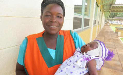 We have changed lives, no child is born with HIV at this hospital Says Peace